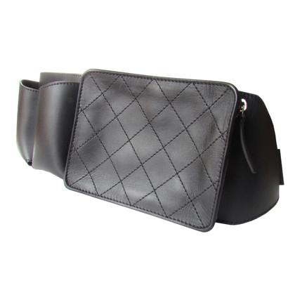 Chanel Leder-Gürtel 3 geräumigen Taschen
