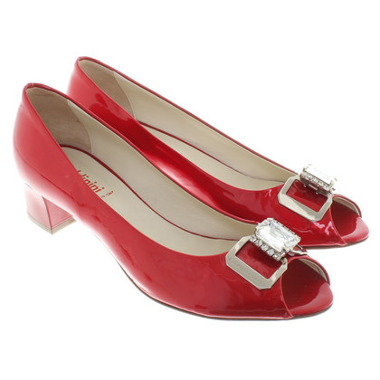 Baldinini Peeptoes in red