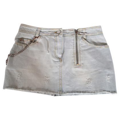 Christian Dior Denim mini skirt