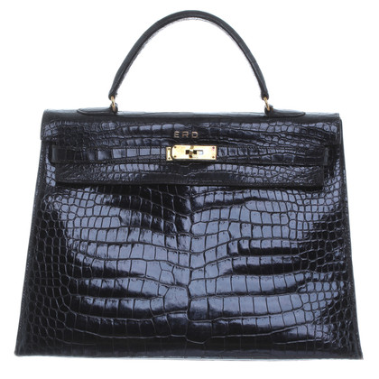 "Hermès ""Kelly Bag 36"" crocodile leather"
