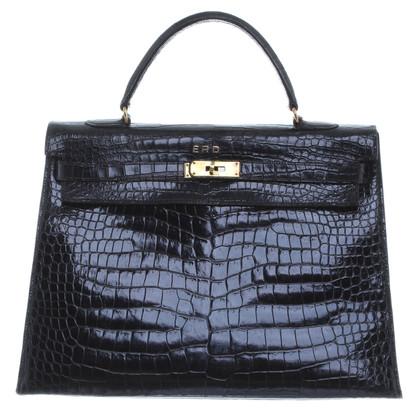 "Hermès ""Kelly Bag 36"" in pelle di coccodrillo"