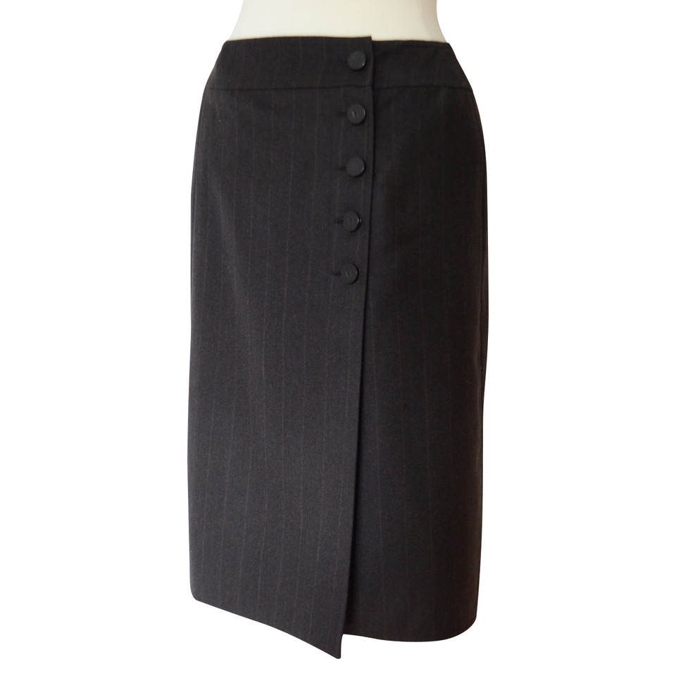 Chanel skirt with buttons