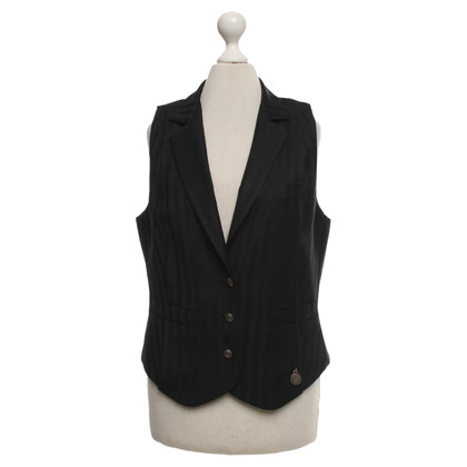 John Galliano Vest in zwart