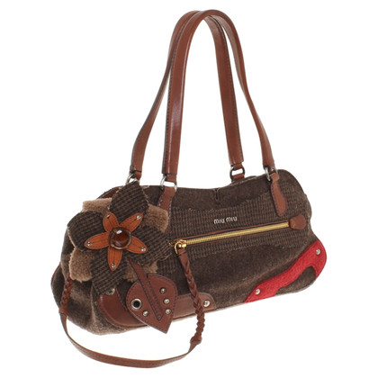 Miu Miu Handbag with floral application