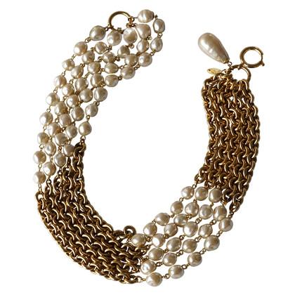 Chanel Lush 5-row chain - Baroque pearls