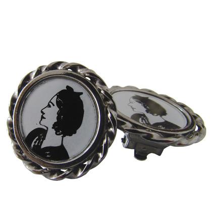 Chanel Coco aangezicht tot aangezicht - oorbellen-clips
