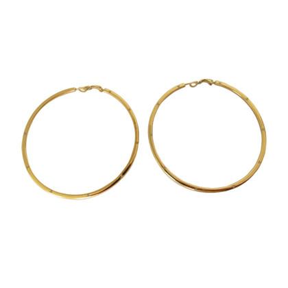 Chanel Grote hoepel oorbellen met CC-logo