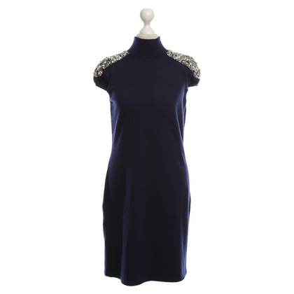 Iris von Arnim Cashmere dress in blue