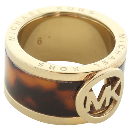 Michael Kors Ring in Schildpatt optics