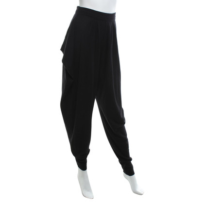 Malo Cashmere trousers in black