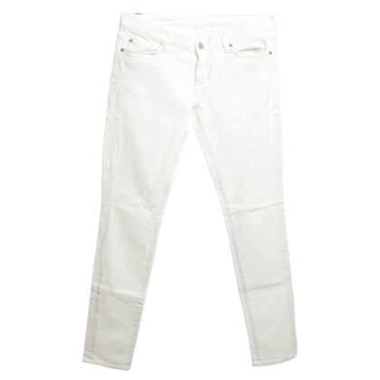 7 For All Mankind Jeans in White
