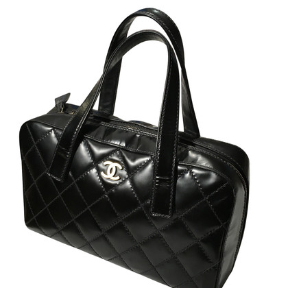 Chanel Black leather Chanel bag