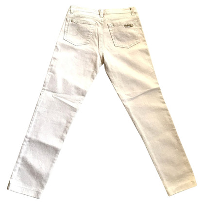 Iceberg High-Waist-Jeans in Beige