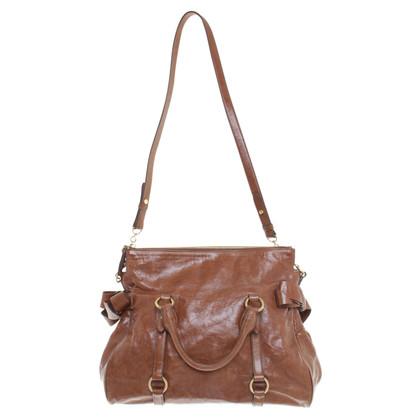 """Miu Miu """"Buigen Bag' Brown"""