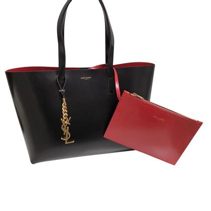 Yves Saint Laurent Gli amanti dello shopping in nero / rosso