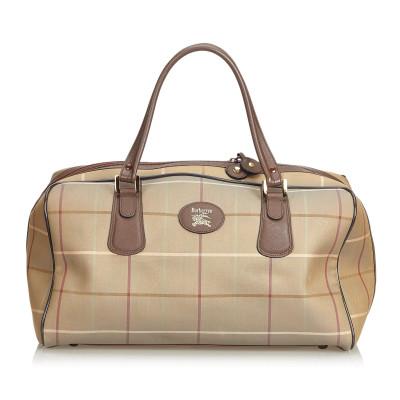 e49e7266ed Burberry Borse da viaggio di seconda mano: shop online di Burberry ...