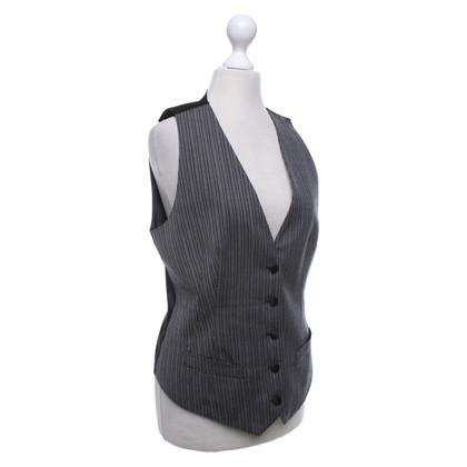 Dolce & Gabbana Vest in black / grey