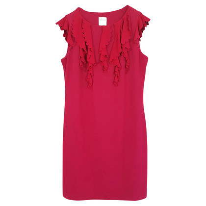 Red Valentino ruffle dress