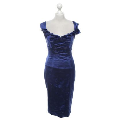 Karen Millen Kleid in Blau