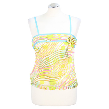 Ted Baker Silk Top met patroon