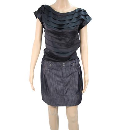 Karen Millen Dress with jeans skirt