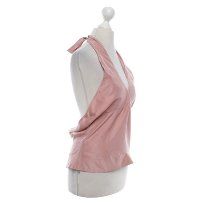 Ted Baker Silk top in blush pink