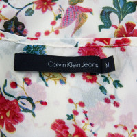 Calvin Klein top with pattern