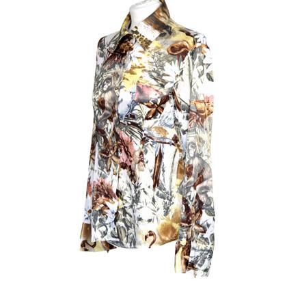 Roberto Cavalli Camicia con Animal Print