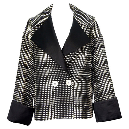Escada Jacket in black / white