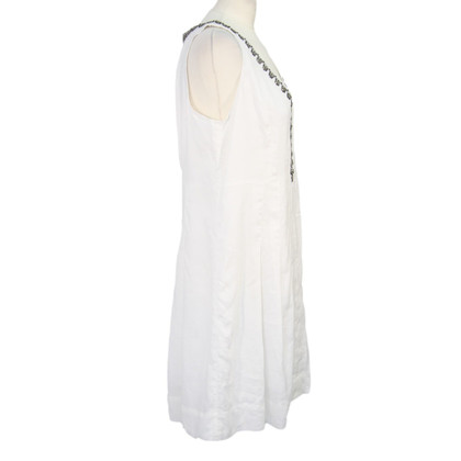 Noa Noa Linen dress in white