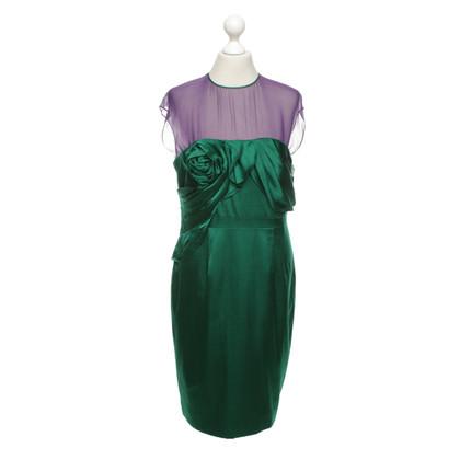 Karen Millen Dress in purple / green