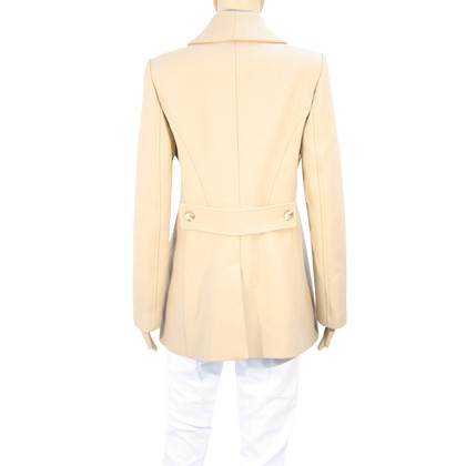 Reiss Cappotto in lana beige