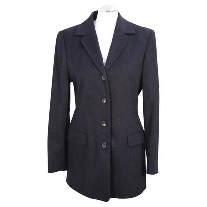 Bogner Cappotto in lana blu scuro