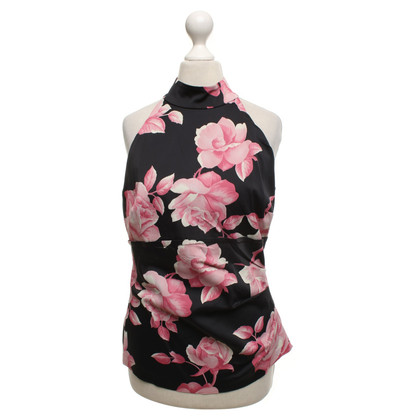 Karen Millen top with floral pattern