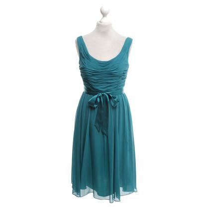 L.K. Bennett Silk dress in turquoise