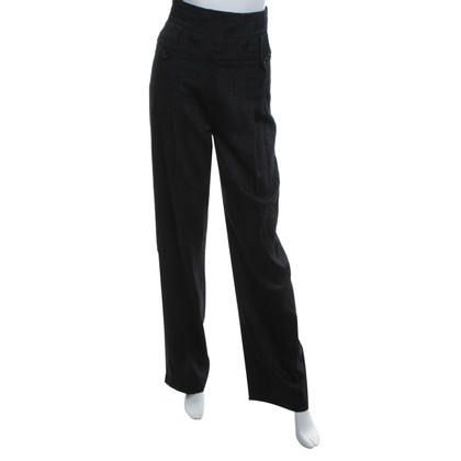 Karen Millen trousers salt-pepper look