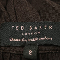 Ted Baker Dress in dark brown