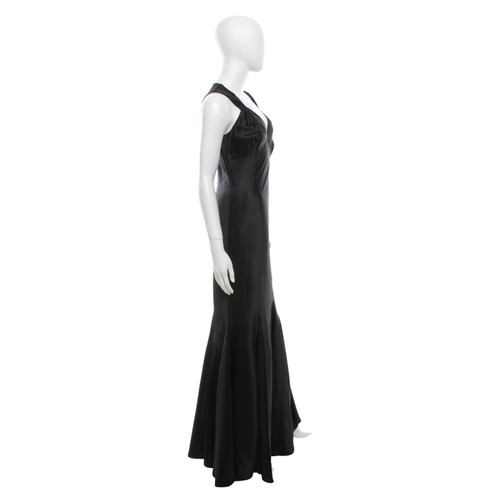 Karen Millen Evening Dress In Black Second Hand Karen Millen