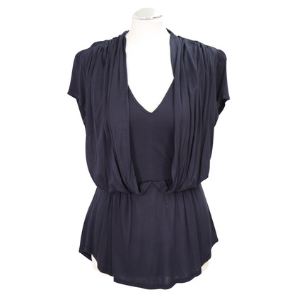 French Connection Top in blu scuro