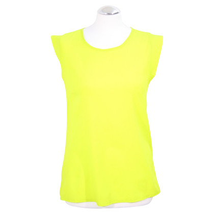 French Connection top in neon