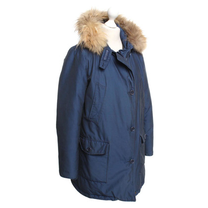 Woolrich Coat in donkerblauw