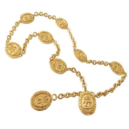 Chanel Gürtel*Sautoir-Kette*Armband - Münzen