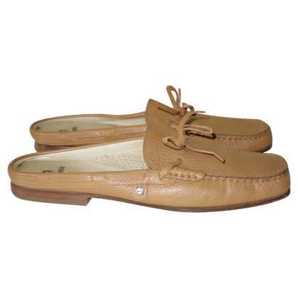 Aigner Mules in light brown