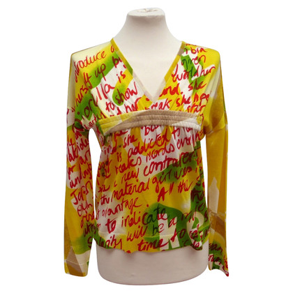 Christian Dior Sweater met kleurrijke print