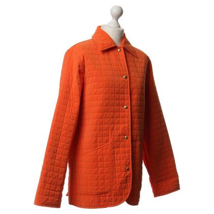 Etro Doorgestikte jack in oranje