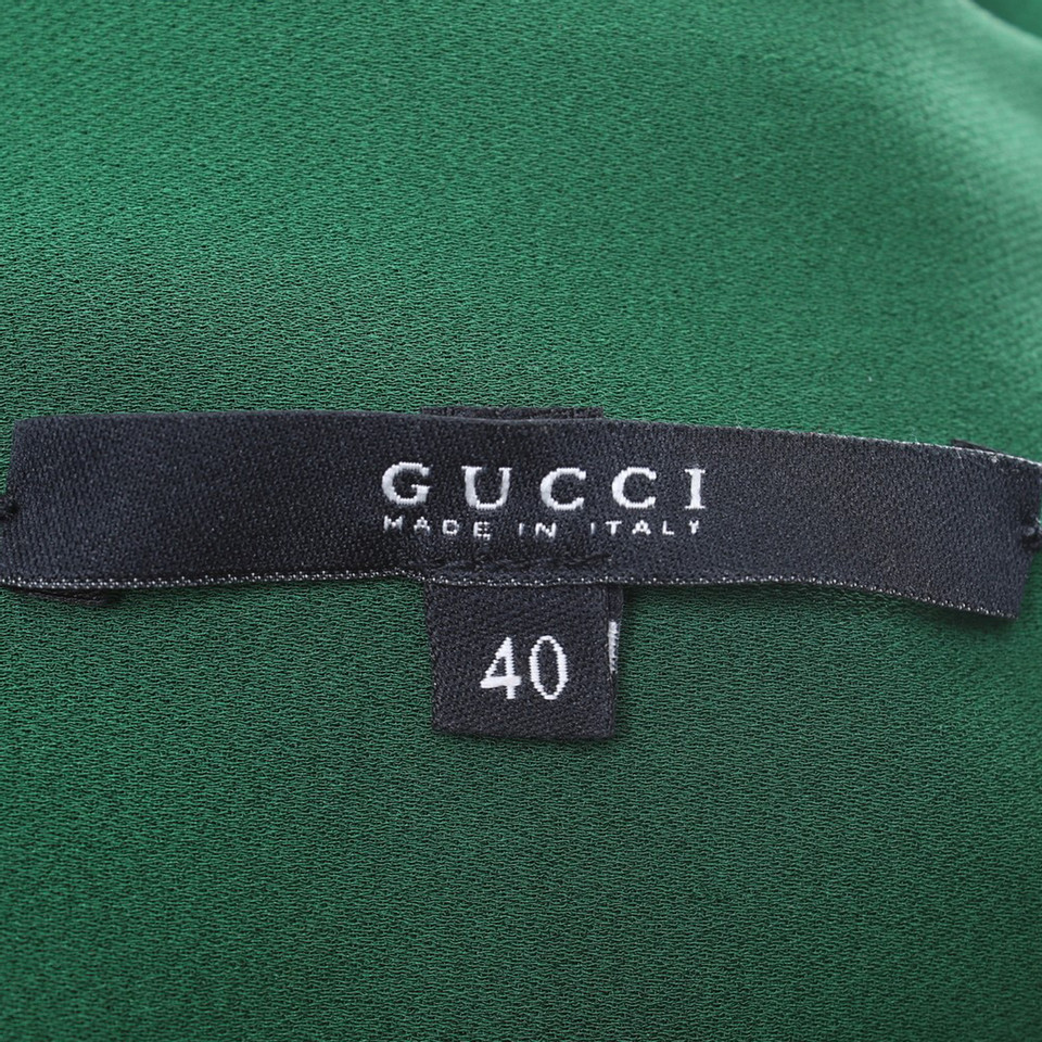 Gucci Cocktailkleid in Dunkelgrün - Second Hand Gucci Cocktailkleid ...