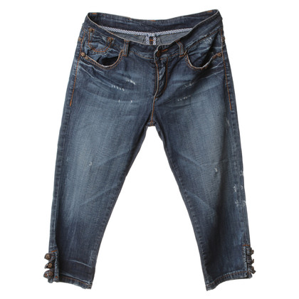 Ermanno Scervino Capri jeans in used look