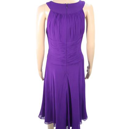 Hobbs Silk dress in violet