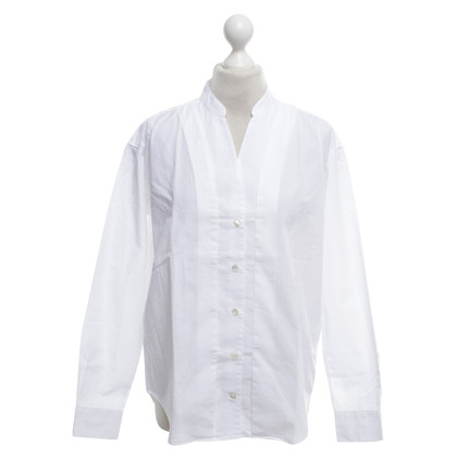 Closed Blouse in white