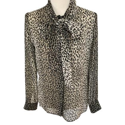 Saint Laurent zijden blouse